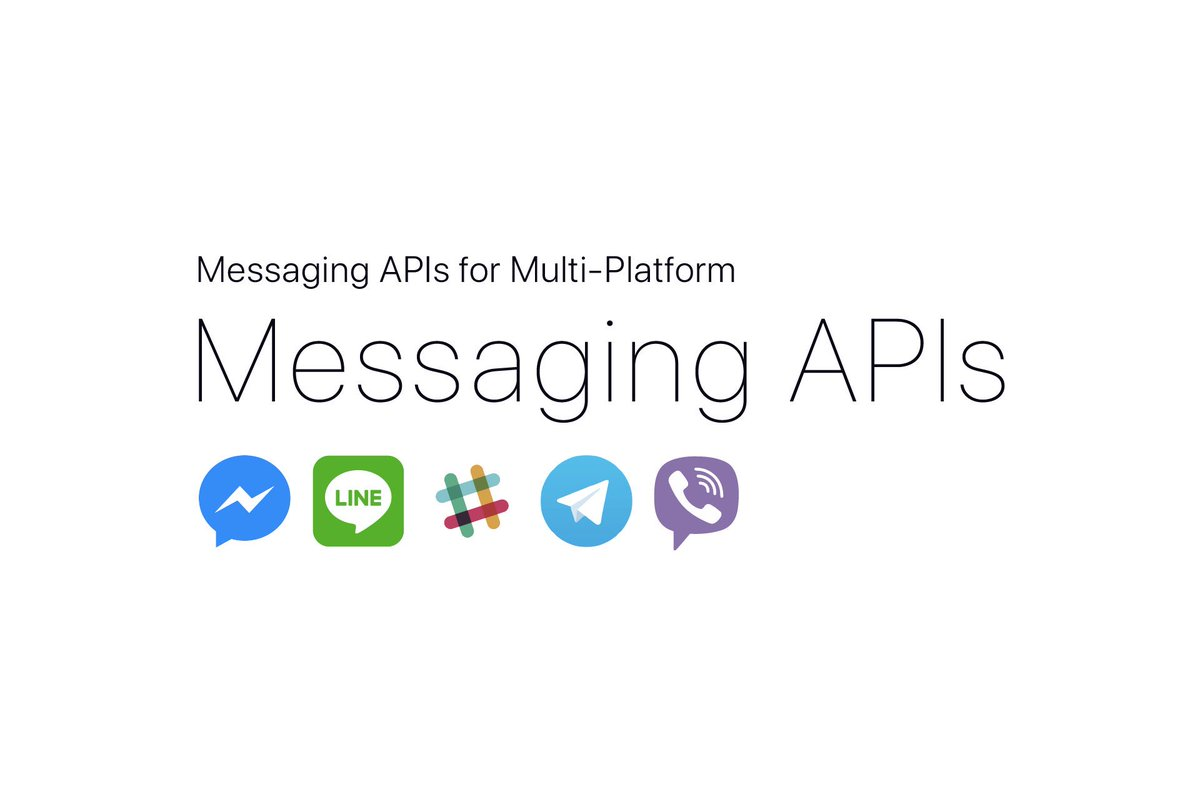Messaging APIs now have Viber support!     https:// github.com/Yoctol/messagi ng-apis &nbsp; …    #Viber #messaging-apis <br>http://pic.twitter.com/cSwvU87ixG
