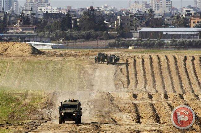Israeli bulldozers level land in northern Gaza Strip https://t.co/IdJAQFGLKh