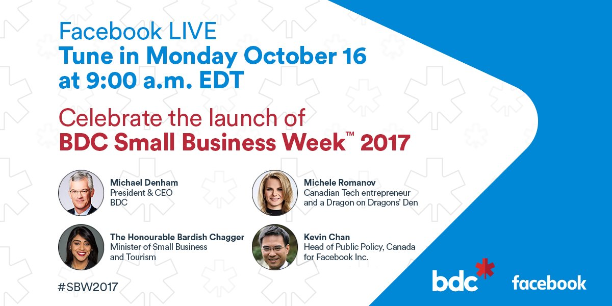 Join us today at 9 a.m. EDT for our #FacebookLive as we'll kick-off #SBW2017 https://t.co/cCJJyYlH2q