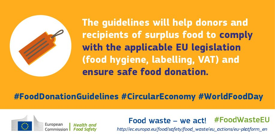 Eu Food Safety On Twitter Eu Guidelines Will Support Safe