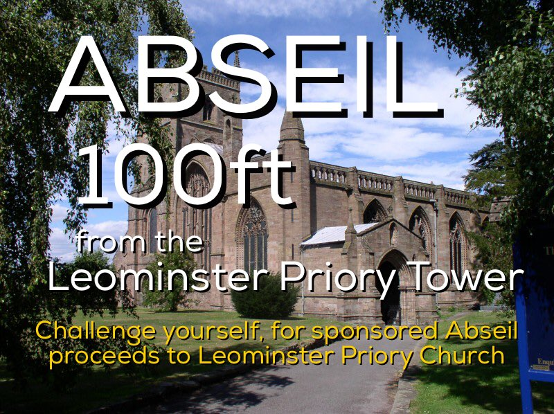 It's #leominster #abseil this Saturday lots of fun  #herefordhour<br>http://pic.twitter.com/cYH0P1nNkD