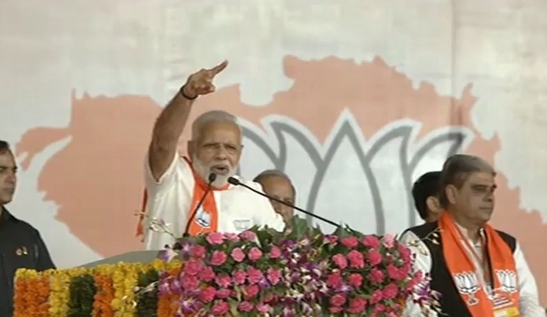 If Congress was doing so good, why 25% of its MLAs left it before election: Modi