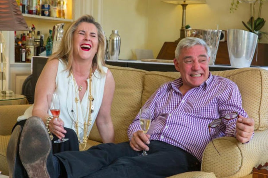 Gogglebox Duo Steph Dom Turn Down The Ju...