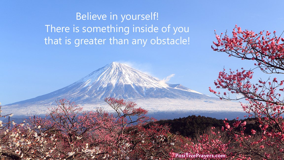 Believe in yourself! There is something inside of you that is greater than any obstacle!  #SelfEsteem #Motivational #Quotes<br>http://pic.twitter.com/3bjn6uXbFc