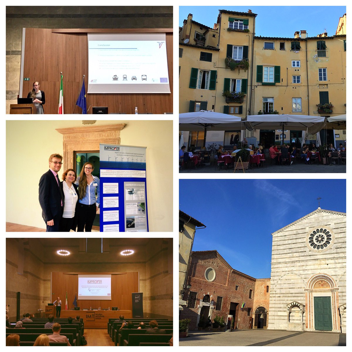#CRITIS2017 was such a wonderful, prosecco filled experience! Lots of great talks about #resilience &amp; #criticalinfrastructure, too! <br>http://pic.twitter.com/4l22mzp3br