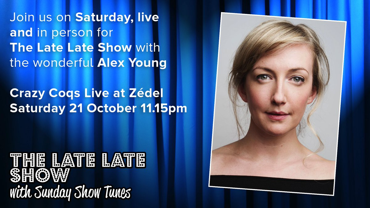 GUEST ANNOUNCEMENT: The wonderful @alexdeboo, currently playing Young Sally in #Follies @NationalTheatre, will be joining us, too! #cantwait<br>http://pic.twitter.com/vYX2GnyQ0K