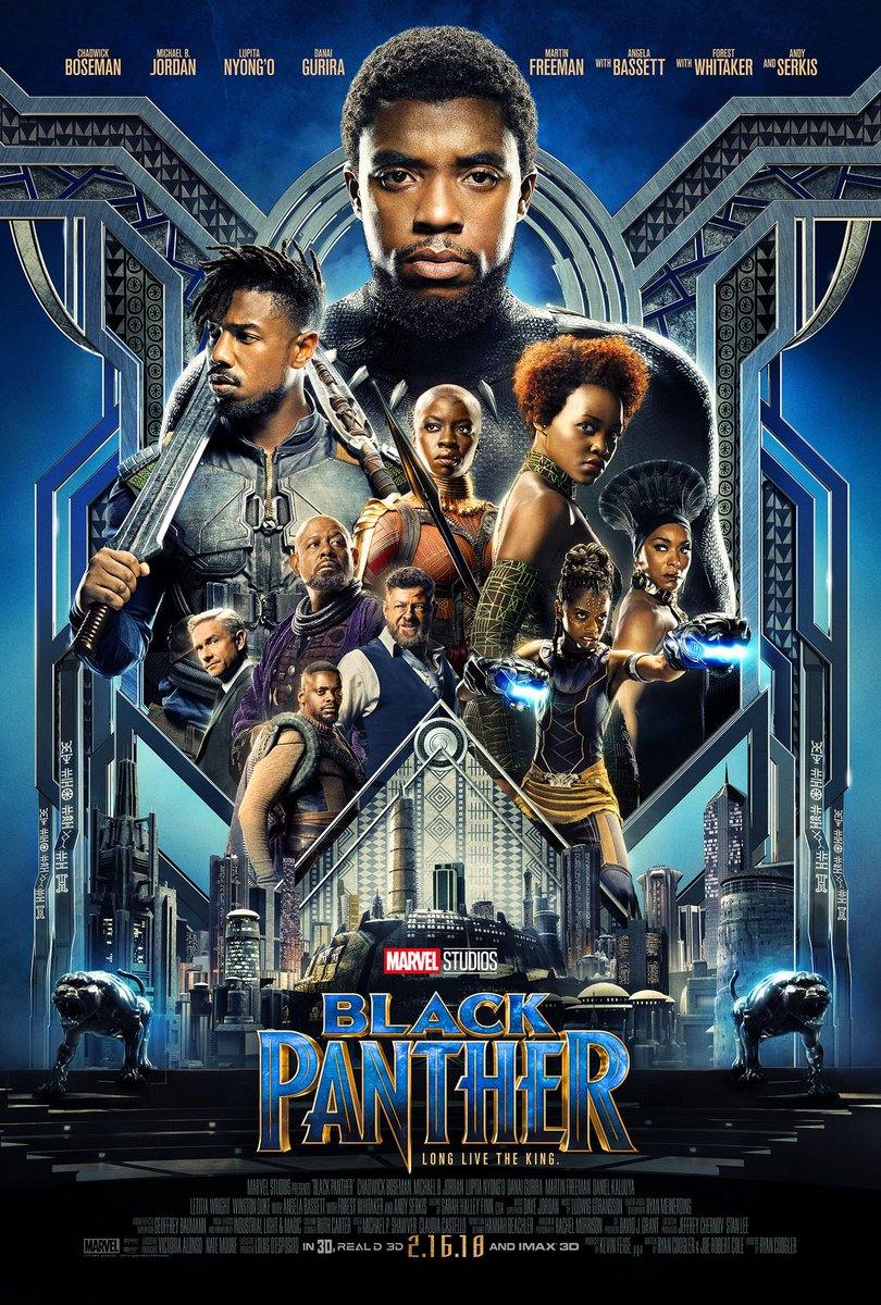 Black Panther - Poster Oficial