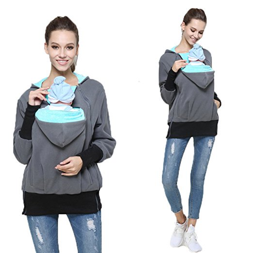 #Babywearing Kangaroo style hoodie! Perfect for #Winter! #Maternity #pregnancy #baby #womensclothing #ad Get it here &gt;&gt;  http:// amzn.to/2kRDsW2  &nbsp;  <br>http://pic.twitter.com/bB9ldNfhSc