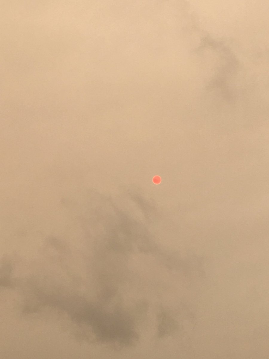 #redsun over #Coventry just now.. https:...