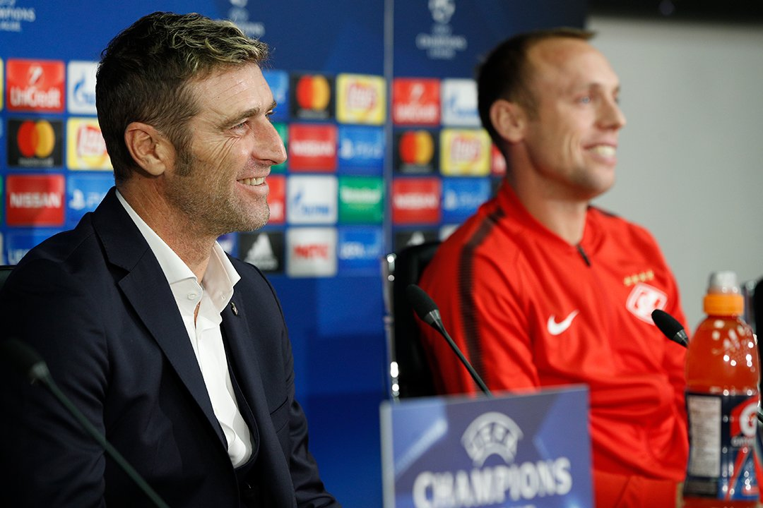 Массимо Каррера и Денис Глушаков: С «Севильей» будет не легче, чем с «Ливерпулем»