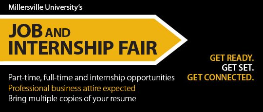 Don&#39;t miss @MUCAREER job fair tomorrow at 10:30 If you have #undergrad publications with #mimcpj then put it on your resume! @millersvilleu<br>http://pic.twitter.com/h64KmzxALS