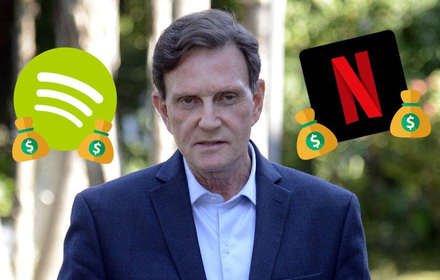 Prefeitura do Rio começa a taxar Netflix e Spotify: https://t.co/Owz9XR3PaX
