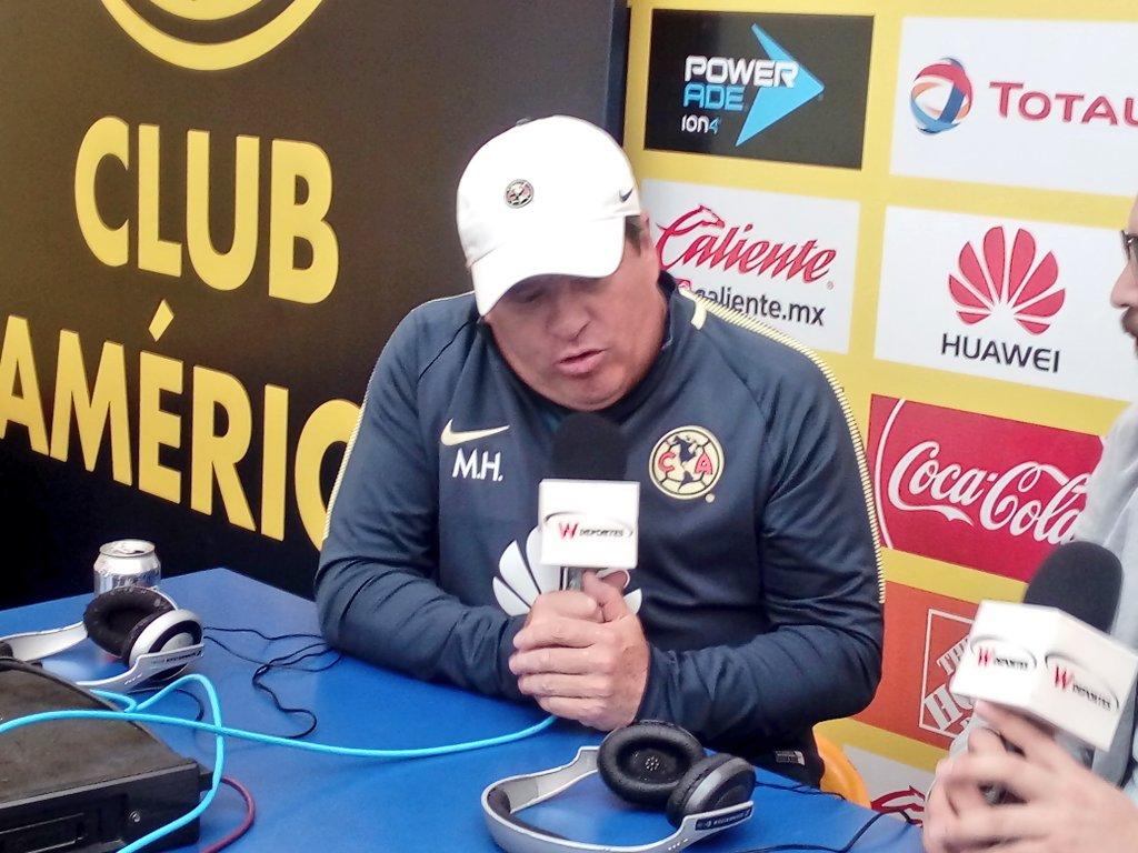 Miguel Herrera: 'Claro que vamos a ganar a Chivas' https://t.co/xdQJIL...