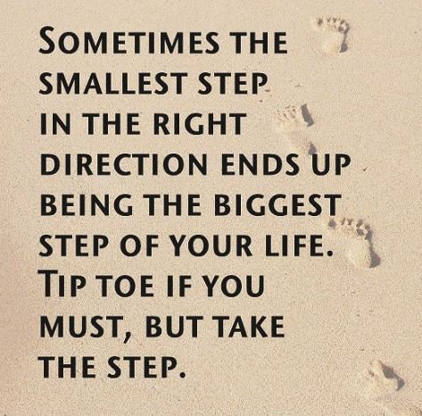 Yes, take the step.