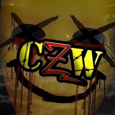 @combatzone logo never looked better. Save us @JoeGacy and bring the horror and Barbwire  #horror #newface #gold<br>http://pic.twitter.com/P9lyQwu106