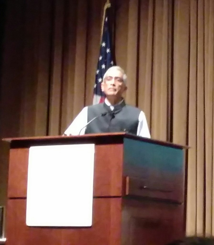 #SwachhBharat has accelerated progress, reducing open defecation by 250 mil people in 3 years, according to @paramiyer_ - #UNCwaterandhealth<br>http://pic.twitter.com/D8NWukv0QY