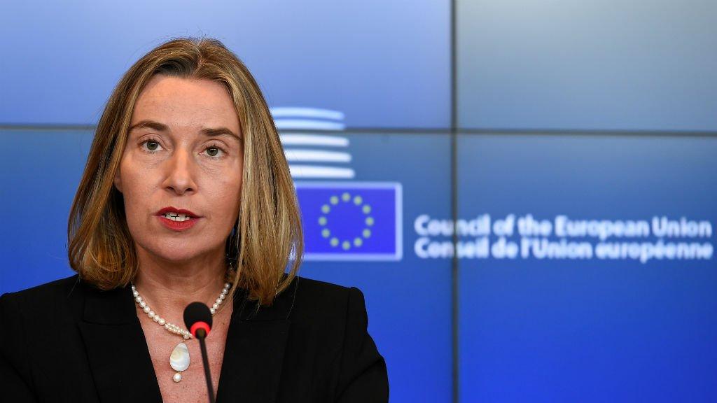 EU's Mogherini vows to defend Iran deal despite Trump https://t.co/3JWfDq3C6V