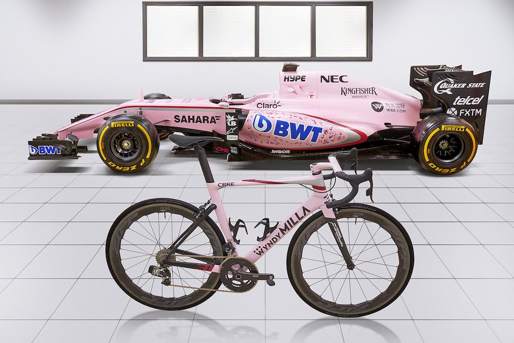 #@UrsusCycling  #MagnusH.01 at a special #F1 #wyndymilla #bike  edtion! #BeaGladiator #Formula1 #ForceIndia  #cycling<br>http://pic.twitter.com/GRFYymqVvV