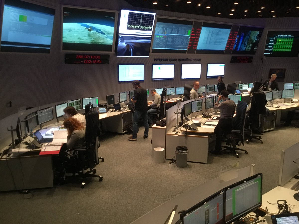 #Sentinel5P in excellent health: update from mission control https://t...