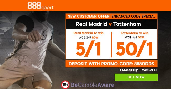 Enhanced Odds at 888sport