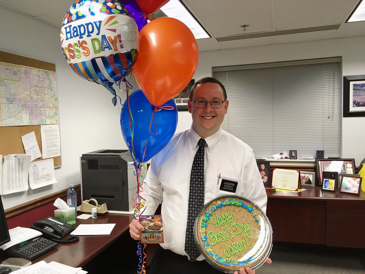Happy #NationalBossDay to our Store Director, Jason! Thank you for eve...