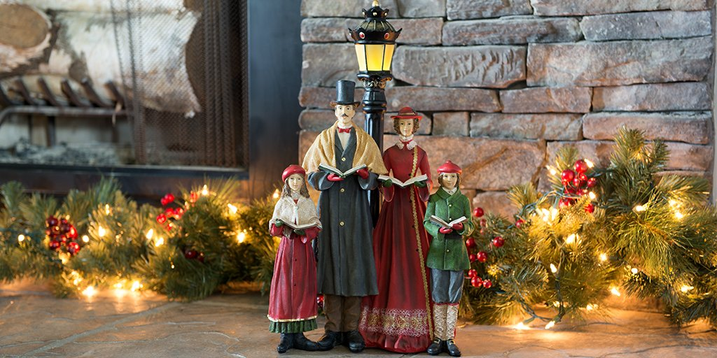 find them in our online store httpshopcrackerbarrelcomchristmas traditionalcarolers with led lamp post decor573921 pictwittercomjjypjhqn4p - Cracker Barrel Store Christmas Decorations