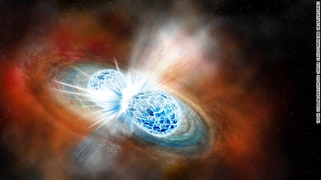 Astronomers for the first time have seen neutron stars colliding. What resulted ushers in a new era of astronomy. https://t.co/f1H6Lk4rWQ