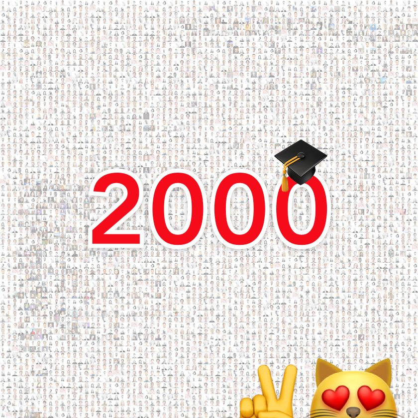 Today is a very special day for us! A few hours ago, our #alumni community reached the 2,000-member mark  We are so proud of all of you  <br>http://pic.twitter.com/LyH1CBq0dC
