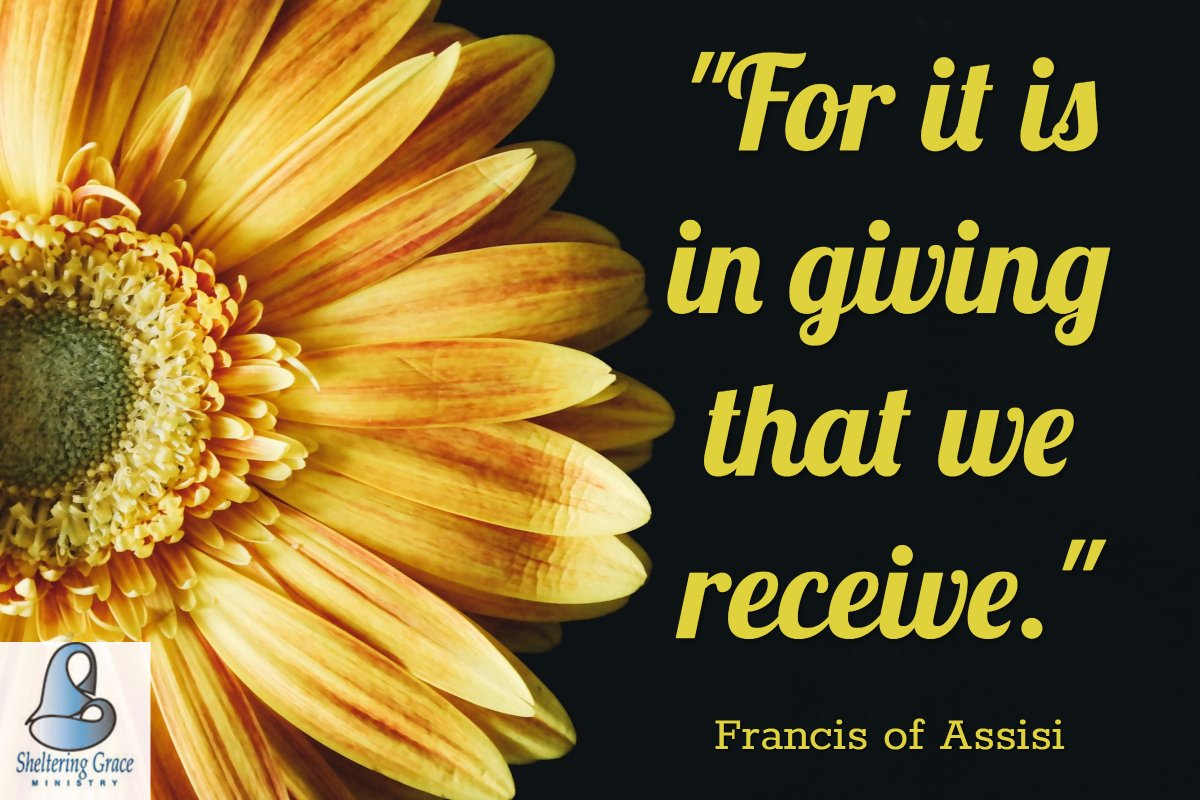&quot;For it is in #giving that we receive.&quot;-  Francis of Assisi #quotes  http:// ow.ly/UqP930fTIT7  &nbsp;  <br>http://pic.twitter.com/0bvoU11MWc