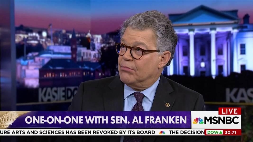 Senator Al Franken: I'm agnostic on Trump impeachment until we know if he broke the law https://t.co/9IEAZxR7L7