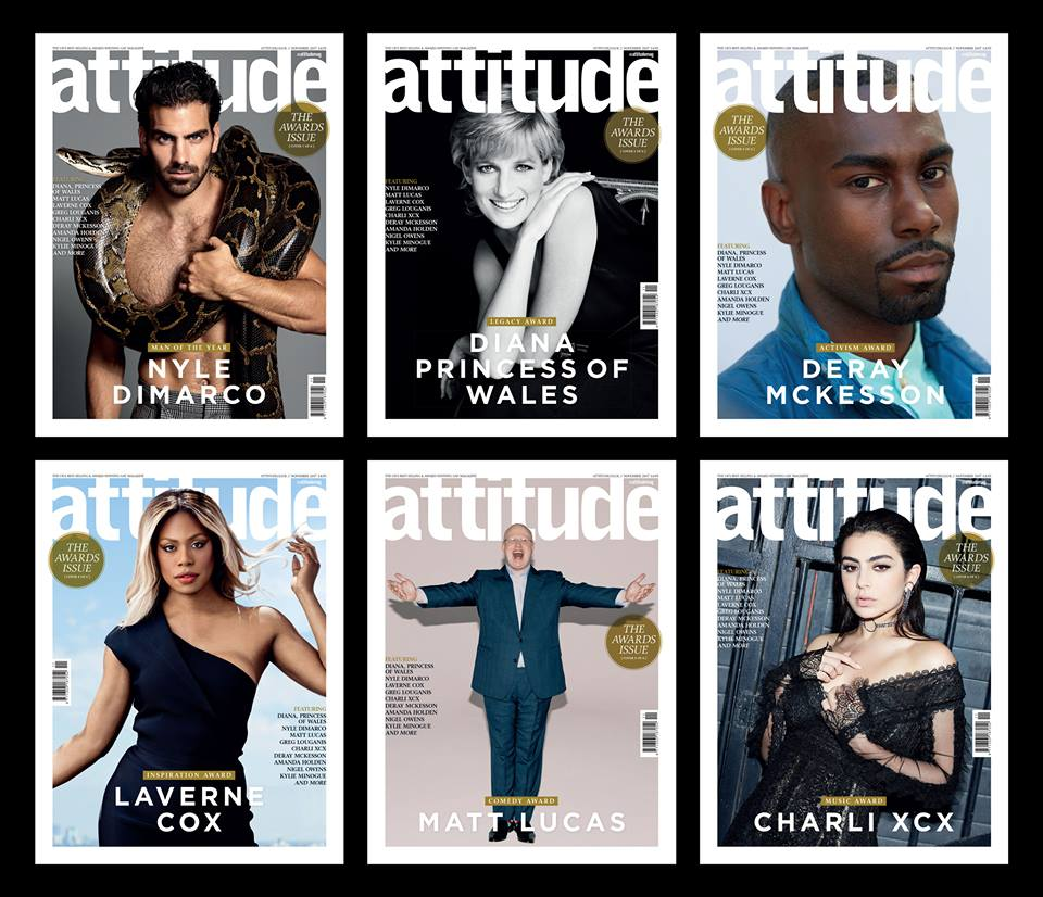 Celebrate all things LGBT in our very special #AttitudeAwards issue -...