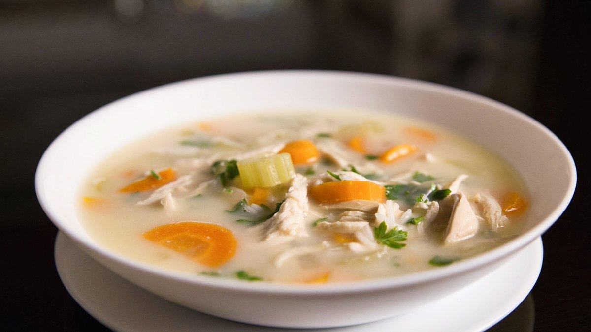 Рецепт суп с рисом и мясом