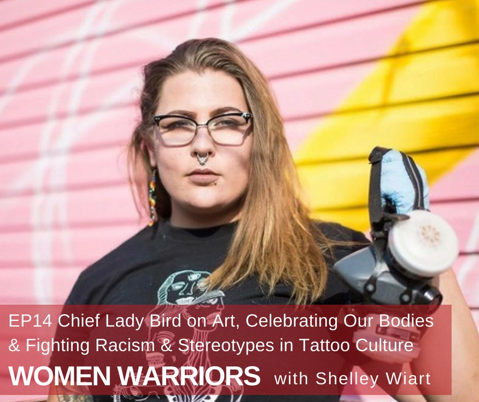 Artist @chiefladybird shares why she creates art celebrating Indigenous women bodies #bodypositive #indigenous  http:// ow.ly/u8b430fU6mB  &nbsp;  <br>http://pic.twitter.com/P9ZH51pD33