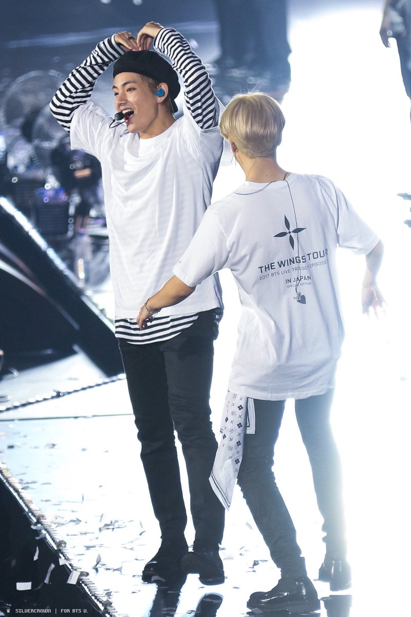 hd of jimin running to tae and lifting h...
