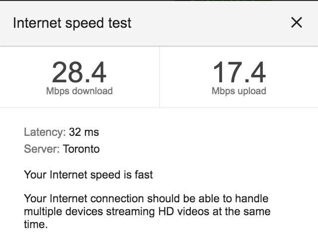 test Twitter Media - Dear @Rogers…installation as smooth as butter…but but no PVR and when do those 150 Mbps speeds kick in? https://t.co/sOELxsIL9U