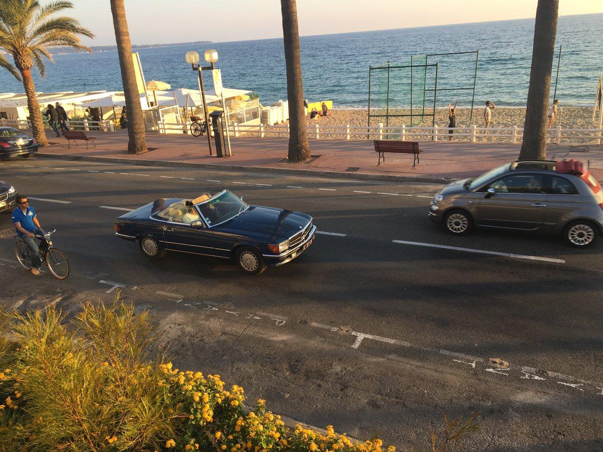 My favourite car of the trip so far #beautiful #mercedes <br>http://pic.twitter.com/MzdjewJc4t