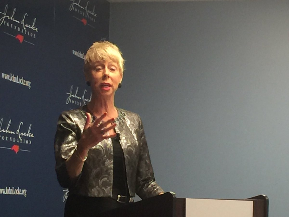 State Auditor Beth Wood is addressing @JohnLockeNC about her watchdog role #CJ now #ncga #cool #ConsNC<br>http://pic.twitter.com/dE8PAMdStr
