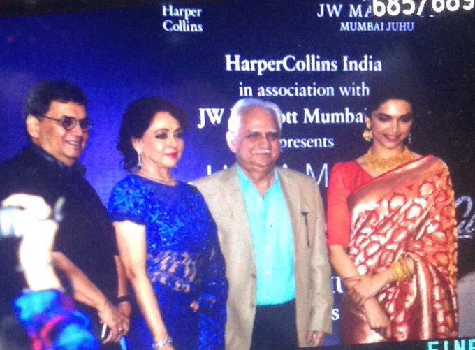 Happy birthday @dreamgirlhema n congrats on launch of ur book'beyond dream girl' today-d perfect indian woman story👍 https://t.co/FW1A26EBpY