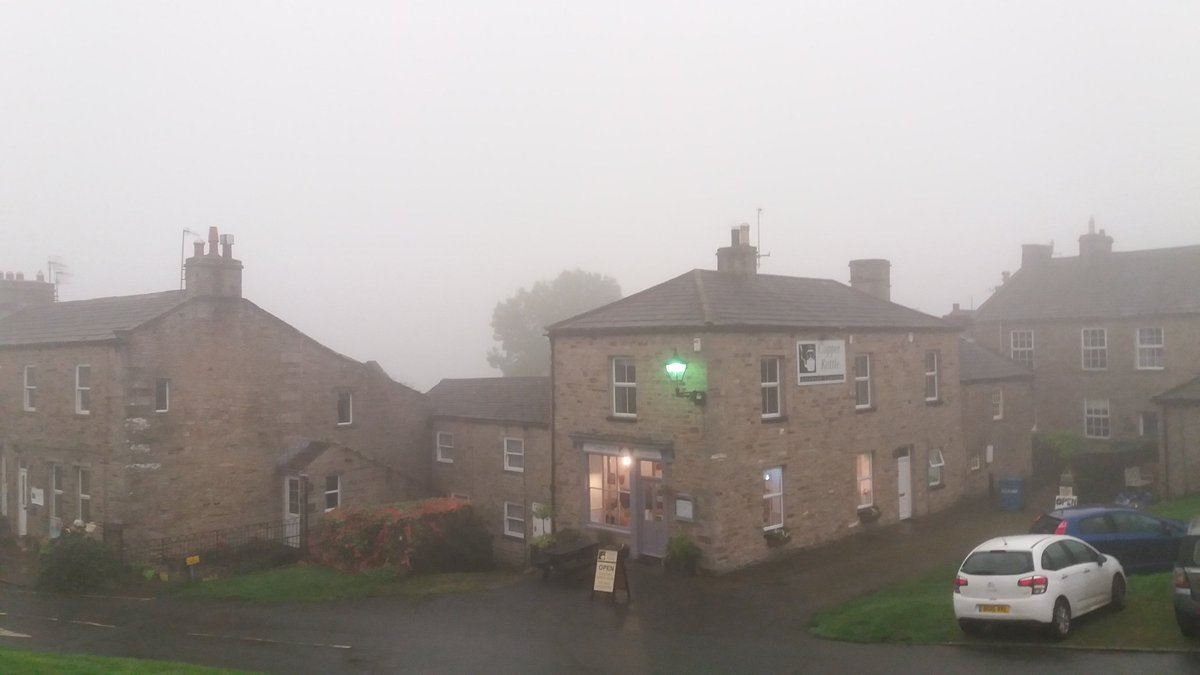 Rest of the world disappeared for a while today!  #Weather #Yorkshire #swaledale #Ophelia<br>http://pic.twitter.com/uKI2IKxT5e