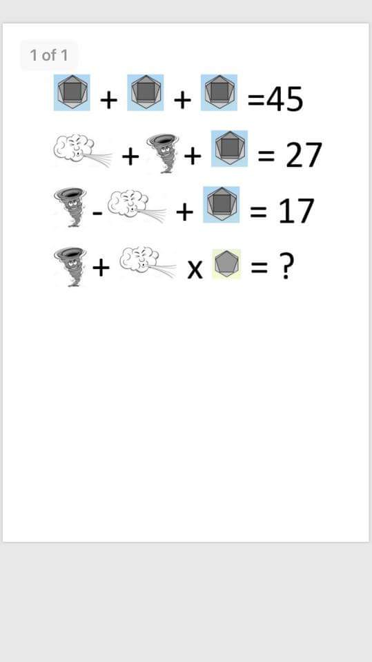 Well folks, solved the last one? Here&#39;s another #Ophelia themed puzzle courtesy of @stpaulsbbrook #maths #cecilias #shared #education<br>http://pic.twitter.com/P8lwoSpfj1