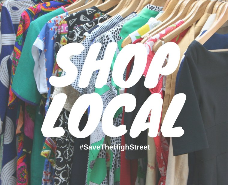 Why #ShopLocal? Because it #creates and...