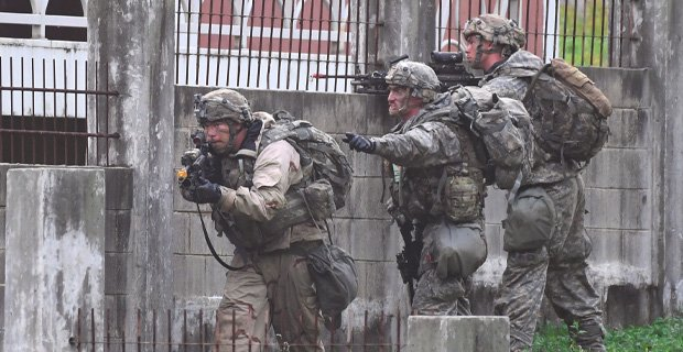U.S. Special Forces 'Decapitation' Team...