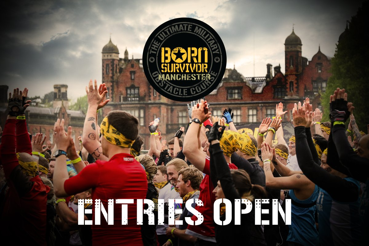 Born Survivor #Manchester 2018 entries are open! Secure your place in the action   http:// born-survivor.com  &nbsp;   #bornmuddy #10km #5km #challenge<br>http://pic.twitter.com/jhOpejuIrd