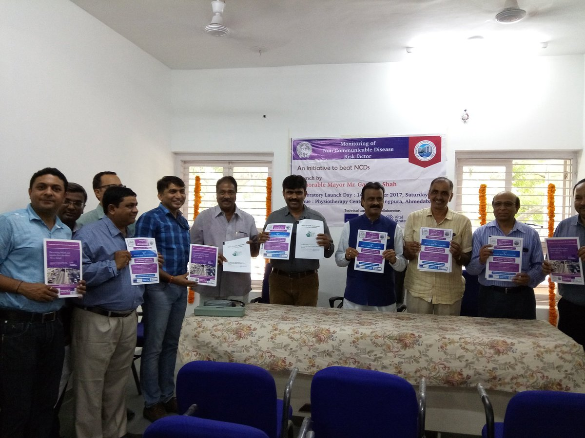 test Twitter Media - #Ahmedabad #India has announced its Partnership for Healthy Cities initiative, which includes monitoring of #NCD risk factors #Cities4Health https://t.co/fgR6SvCUuE