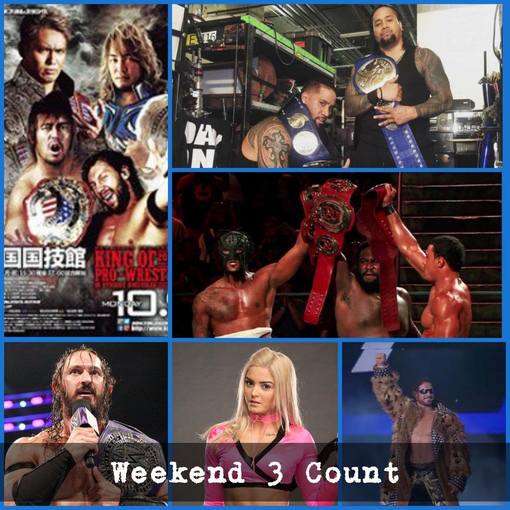 TRIPLE THREAT CLE: Weekend 3 Count 10/15/17 #WWE #205Live #WWENXT #GFW #Impact #LuchaUnderground #ROH #NJPW  http:// triplethreatpodcast.blogspot.com/2017/10/weeken d-3-count-101517.html?spref=tw &nbsp; … <br>http://pic.twitter.com/Ds3XJyB4Co