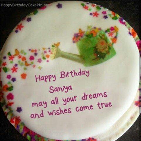 Wafa Ahmad Khan S Tweet Happybirthdaysaniya Keep Smiling And