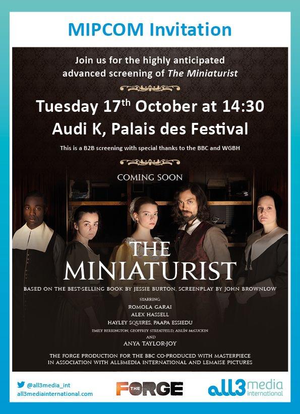 The miniaturist (BBC) l'adaptation du livre de Jessie Burton  DMRlBDSXkAI6Tdb