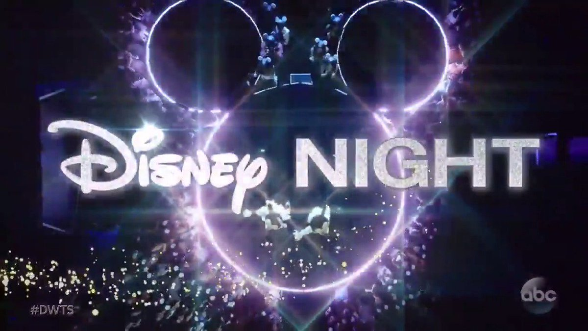 It's the most magical night of the year!  ✨ Disney Night on #DWTS is T...