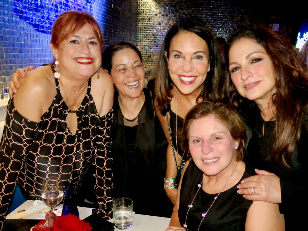 Marianne in Miami with high school friends including @GloriaEstefan at the #OnYourFeet opening party! @marimur @BobSirott @EmilioEstefanJr<br>http://pic.twitter.com/o9sqOfLZ3W