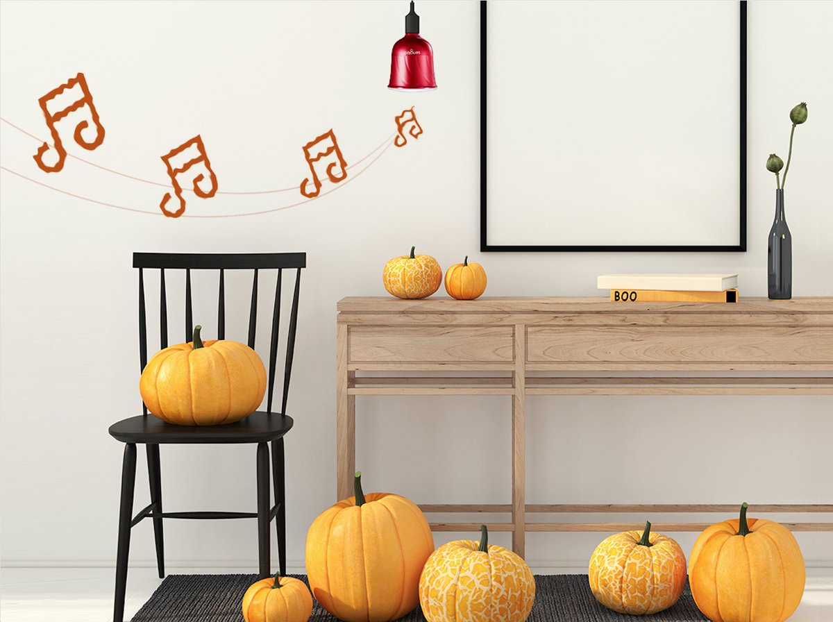 Looking for new ways to make your #Halloween display stand out? #RT2Win Pulse dimmable JBL Speaker Kit!  http:// bit.ly/2uIIF2Q  &nbsp;   #smarthome <br>http://pic.twitter.com/sqYhEWczD3